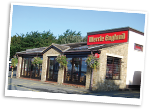 Merrie England Coffee Shop in Oakes, Huddersfield